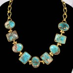 Turquoise Water Necklace