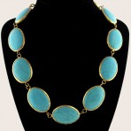 Afghan Turquoise Necklace