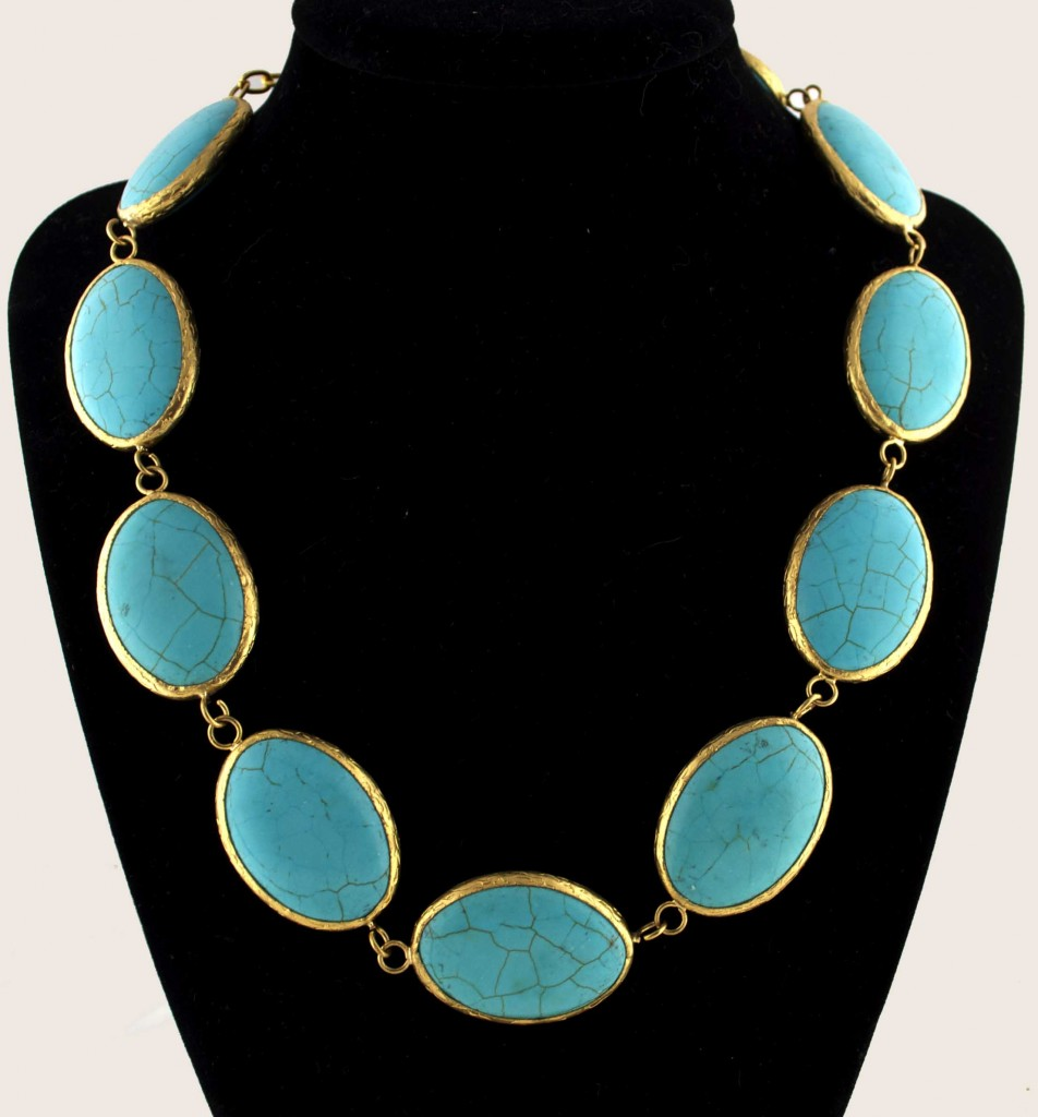 necklace johnson barbara navajo native american turquoise jewelry jewellery royston