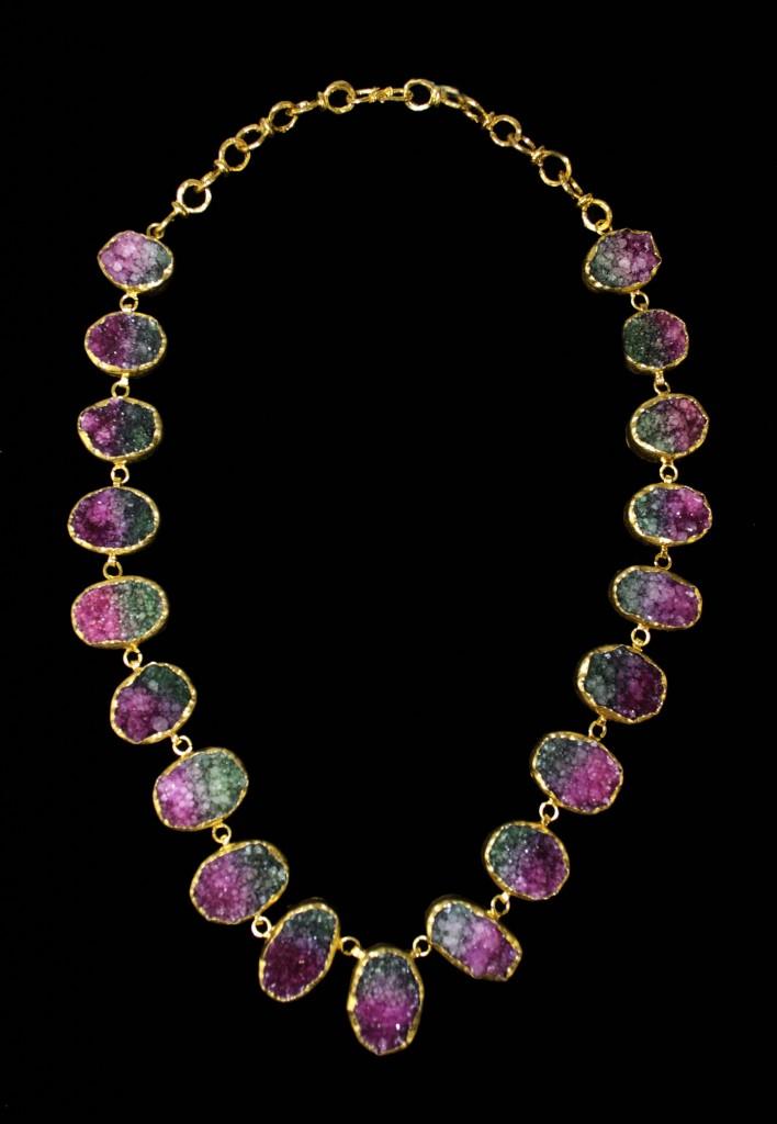 Druzy Necklace 1