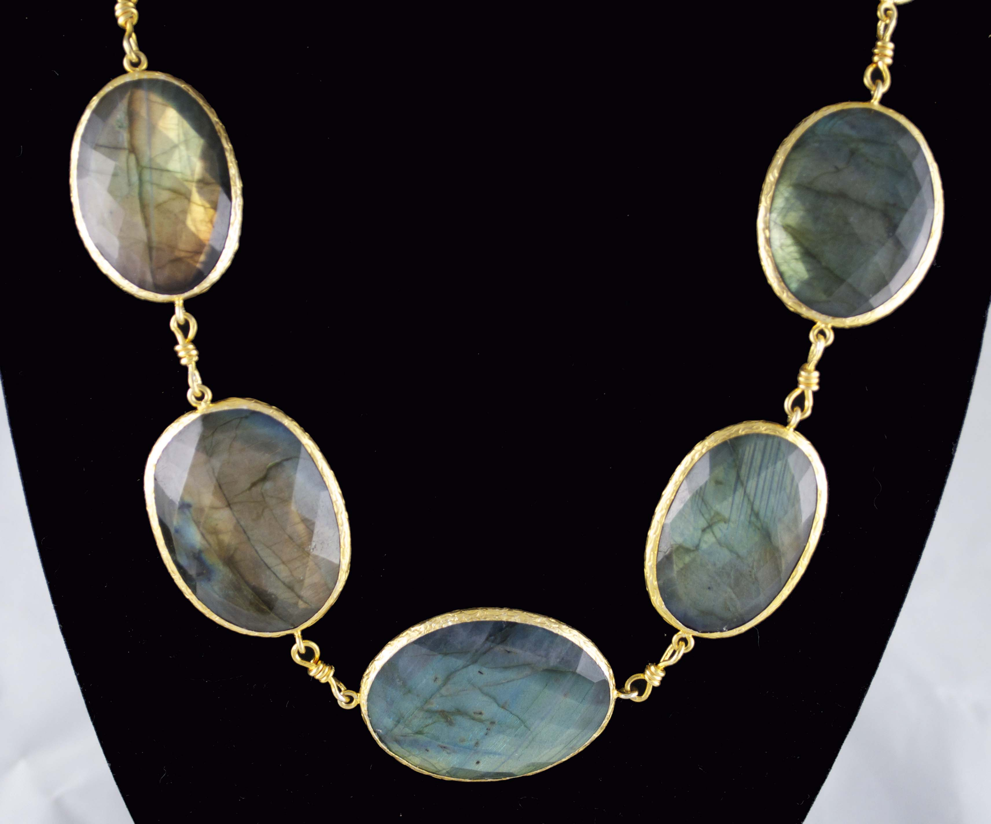 Lovely Labradorite Necklace Arabella Concepts