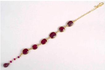 Ruby Sun Bracelet