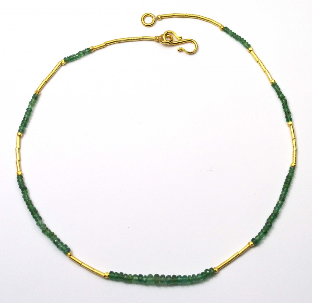 Emerald Necklace 18 inch II
