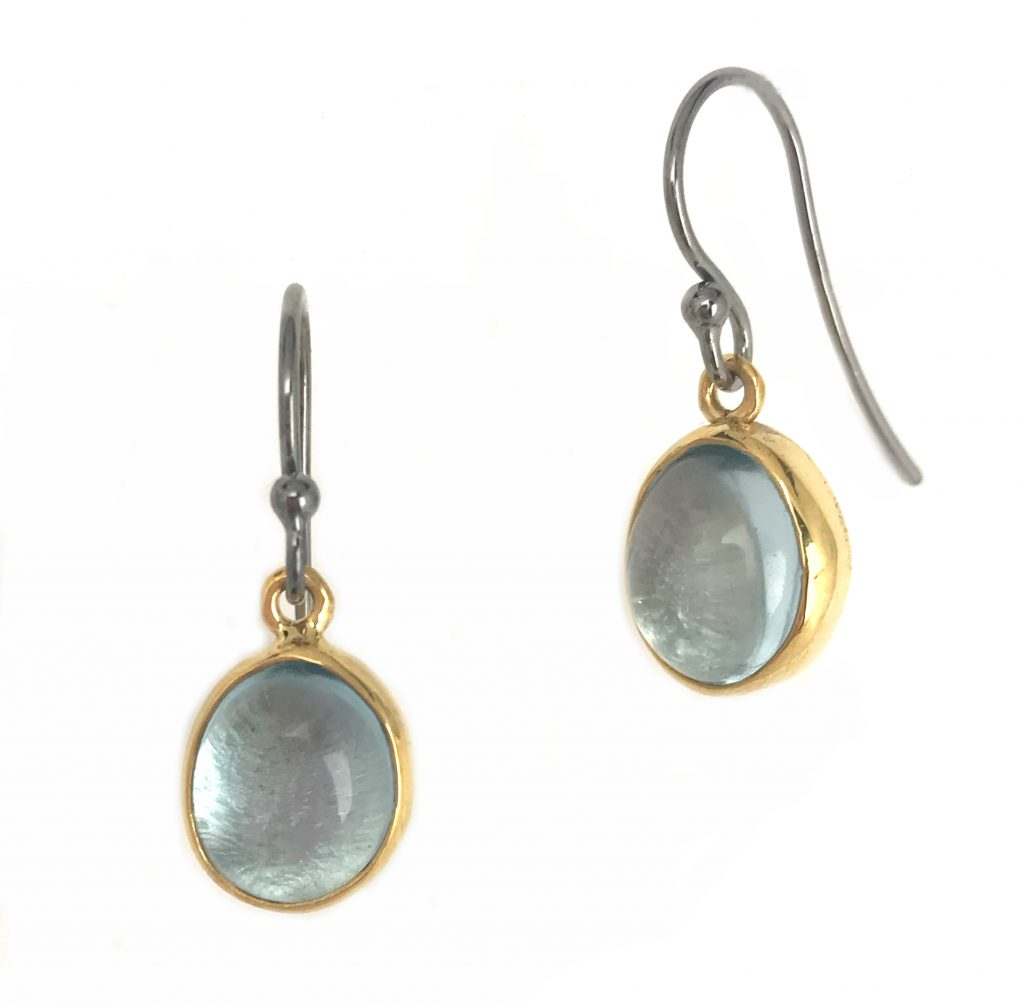 Blue Topaz Sundrop Earrings