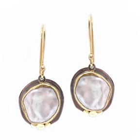 Byzantine Pearl Earrings